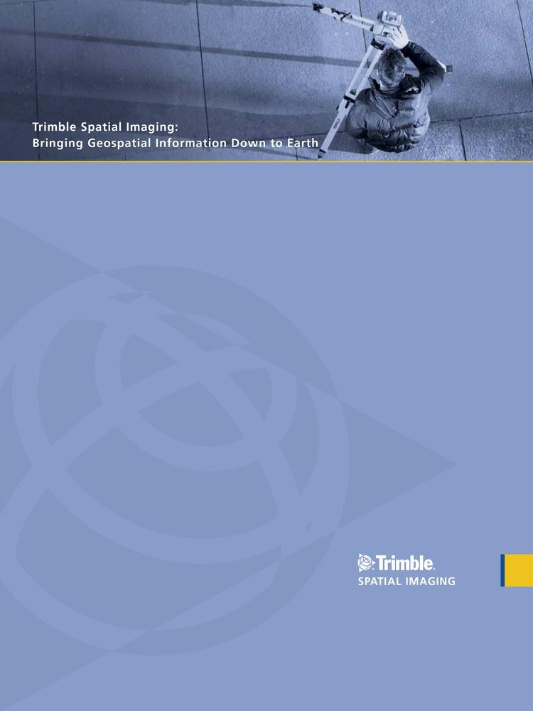 Trimble Spatial Imaging (брошюра)